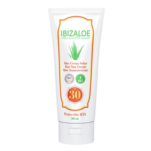 Crema Solar Aloe Vera 30