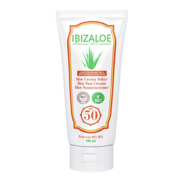 Crema Solar Aloe Vera 50
