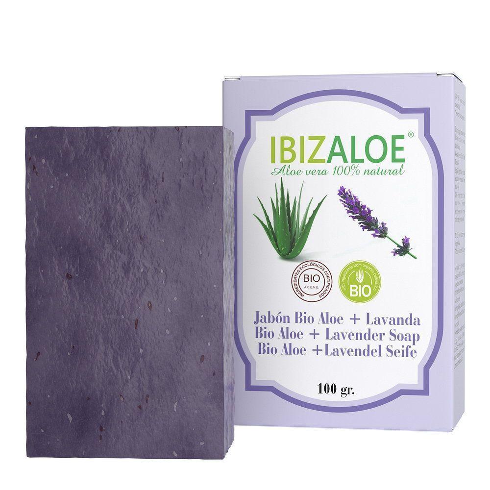 Aloe Vera Soap + Lavender