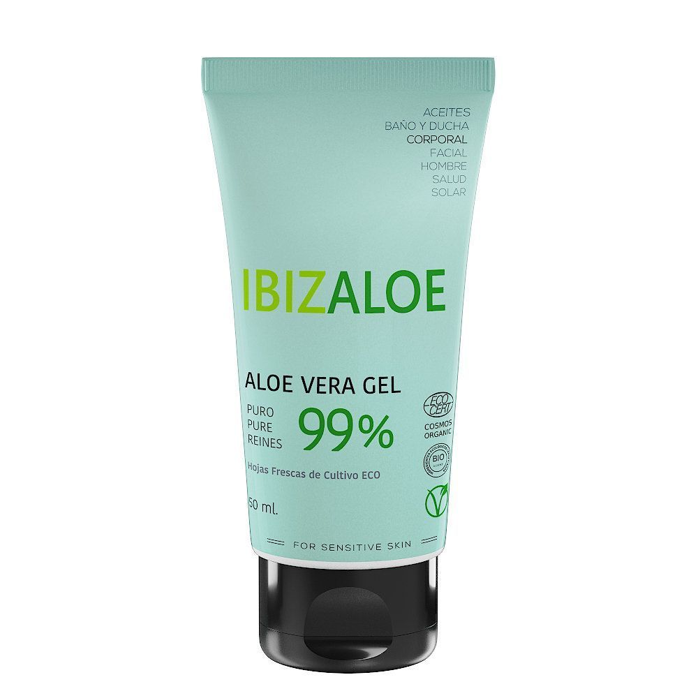 PURE ALOE VERA GEL 99% from fresh leaves 50ml
