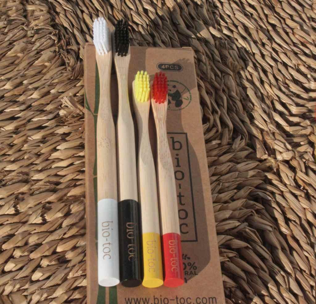 cepillo dientes bambu adulto y niño 1