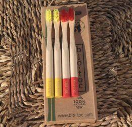 pack cepillo bambu niños 2