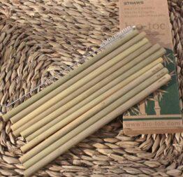 pajitas de bambu 1