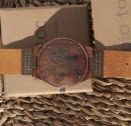 reloj de madera indiana hombre 3