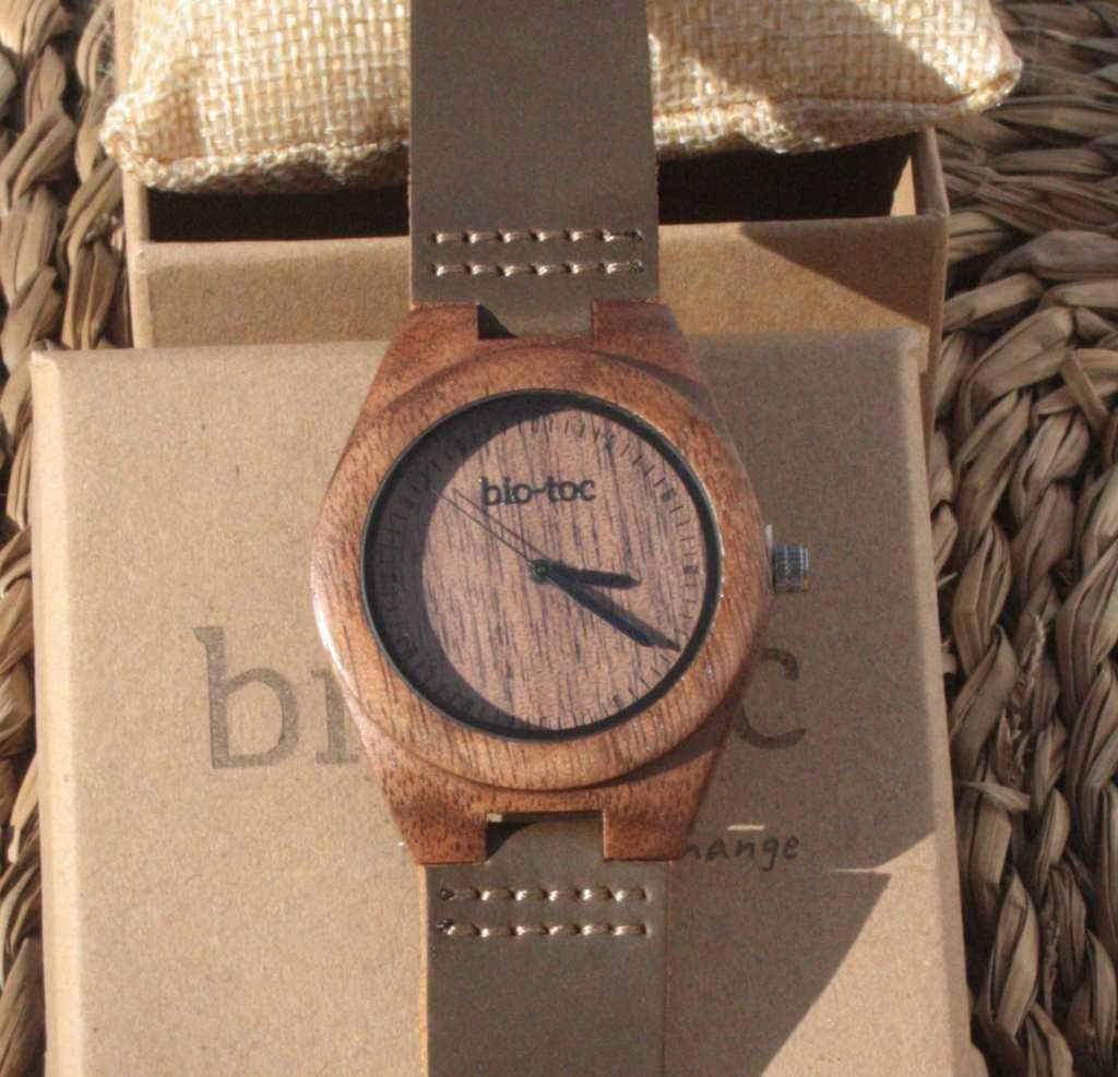 Reloj de madera Indiana Mujer