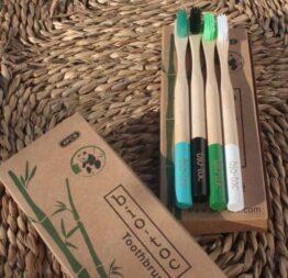 set cepillos dientes bambu m2 3