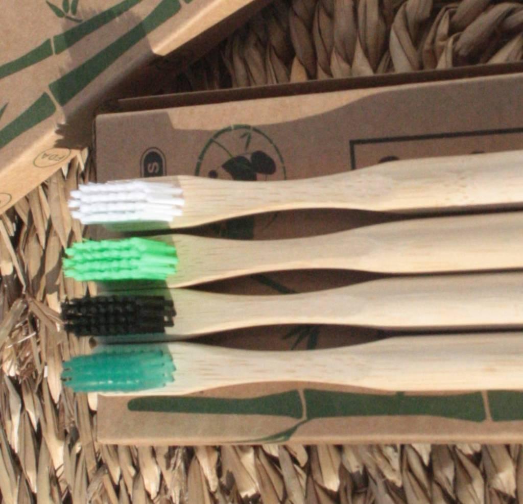 set cepillos dientes bambu m2 4