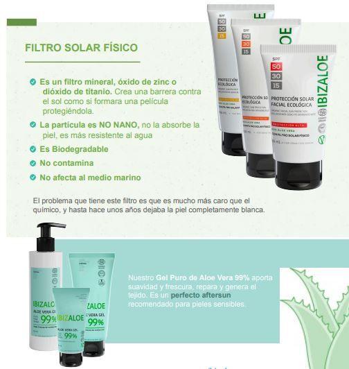 protector solar fisico